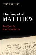 The Gospel of Matthew Pdf/ePub eBook
