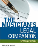 The Musician S Legal Companion Book PDF