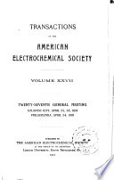 Transactions of the Electrochemical Society