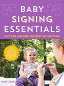 Baby Signing Essentials Book PDF