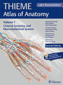 General Anatomy and Musculoskeletal System  THIEME Atlas of Anatomy   Latin nomenclature