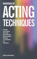 Handbook of Acting Techniques Book