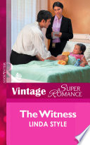 The Witness  Mills   Boon Vintage Superromance   Women in Blue  Book 3