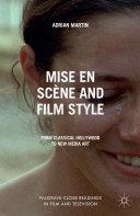 Mise en Scène and Film Style [Pdf/ePub] eBook