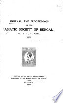 Bibliography of Meteorological Papers in the Publications of the Asiatic Society of Bengal, 1788-1928