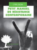 Petit manuel de résistance contemporaine Pdf/ePub eBook