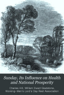 Sunday  its influence on health and national prosperity   Prize essay