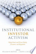 Institutional Investor Activism Book