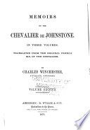 Memoirs of the Chevalier de Johnstone  Adventures after the battle of Culloden