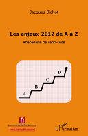 Pdf Enjeux 2012 de A à Z Telecharger
