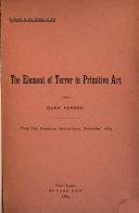 The Element of Terror in Primitive Art