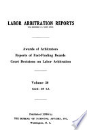 Labor Arbitration Reports