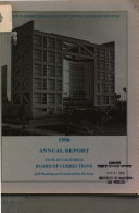 County Correctional Facility Capital Expenditure Fund Annual Report