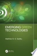 Emerging Green Technologies Book
