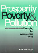 Prosperity  Poverty and Pollution