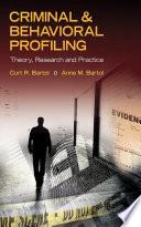 Criminal   Behavioral Profiling