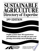 Sustainable Agriculture Directory Of Expertise