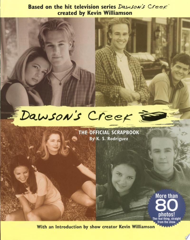 The Official Dawson's Creek Scrapbook banner backdrop