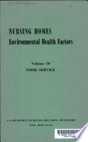 Nursing Homes: Food service