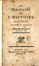 Les ecrivains de l'histoire d'Auguste