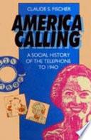 America Calling Book