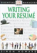 Writing Your Resumé