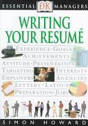 Writing Your Resumé
