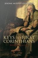 Keys to First Corinthians