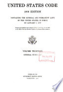 United States code : containing the general and permanent laws of the United States in force on January 3, 1977, Laws, etc. (U.S. code : 1976 ed.)