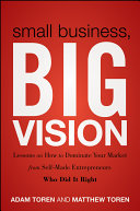 Small Business, Big Vision Pdf/ePub eBook