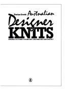 Dorian Scott s Australian Designer Knits