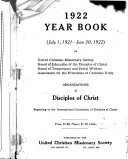Year Book Of The Disciples Of Christ Christian Churches