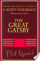 F  Scott Fitzgerald  The Great Gatsby Book