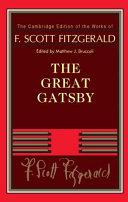 F  Scott Fitzgerald  The Great Gatsby