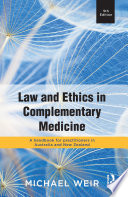 Law and Ethics in Complementary Medicine
