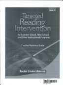Targeted Reading Intervention Level 5 Kit
