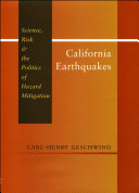 Pdf California Earthquakes