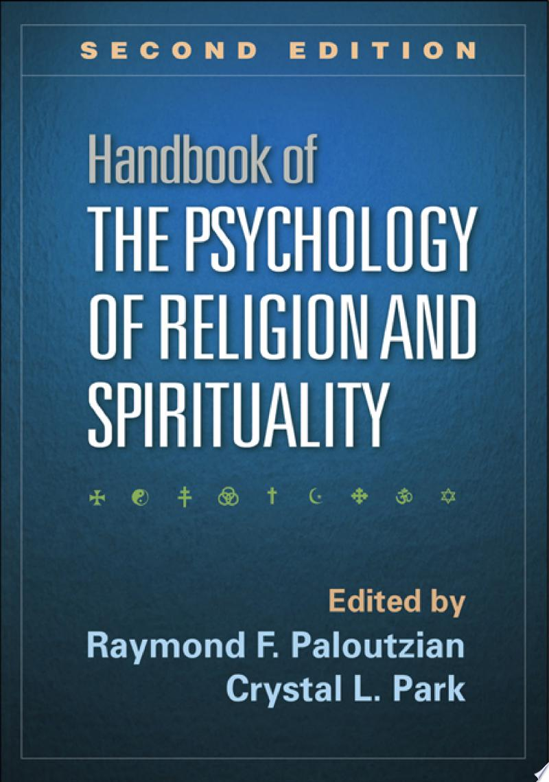 Handbook of the Psychology of Religion and Spirituality, Second Edition banner backdrop