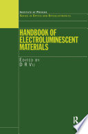 Handbook of Electroluminescent Materials