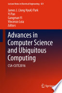Advances In Computer Science And Ubiquitous Computing Book PDF