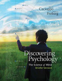 Discovering Psychology  The Science of Mind  Briefer Version Book
