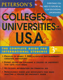 Peterson's Colleges and Universities in the U.S.A.