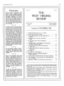 The West Virginia Review