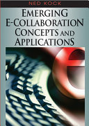 Emerging e Collaboration Concepts and Applications