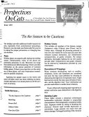 Pdf Perspectives on Cats