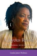 Pdf A Joyous Revolt: Toni Cade Bambara, Writer and Activist Telecharger