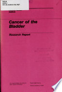Cancer of the Bladder Book