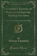 Chambers S Journal Of Popular Literature Science And Arts Vol 6