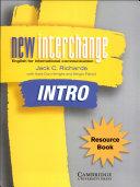 New Interchange Resource Book Intro