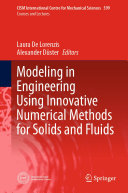 Modeling in Engineering Using Innovative Numerical Methods for Solids and Fluids Pdf/ePub eBook